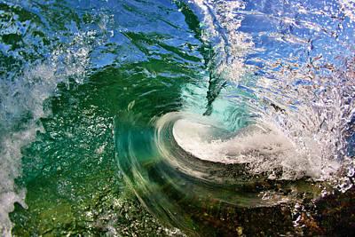 Warped Wave Print by Paul Topp