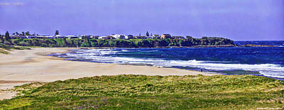 Photograph - Warrain Beach And Culburra Town by Miroslava Jurcik