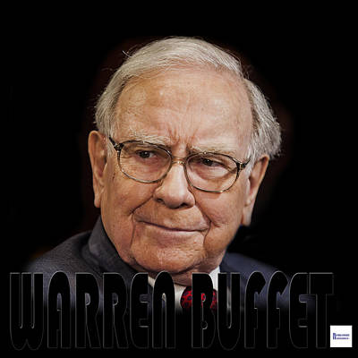 Photograph - Warren Buffet 3 by Andrew Fare