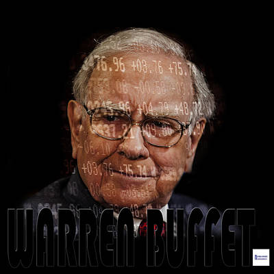 Photograph - Warren Buffet 4 by Andrew Fare