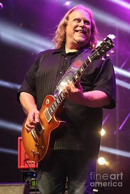 Warren Haynes And The Seaside Allstars Art Print by Concert Photos