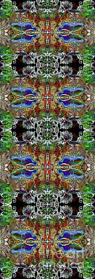 Digital Art - Warrior 3 by Deprise Brescia