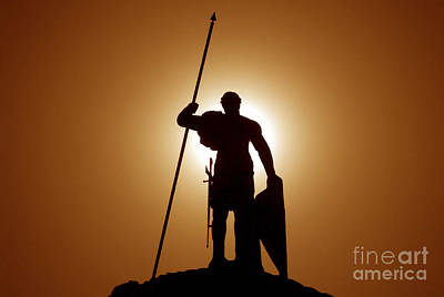 Greek Photograph - Warrior by David Lee Thompson