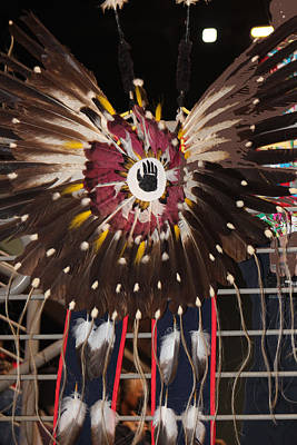 Photograph - Warrior Feathers by Audrey Robillard