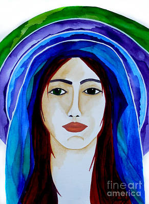 Painting - Warrior In Prayer by Jean Fry