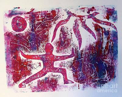 Painting - Warrior One  by Corina Stupu Thomas