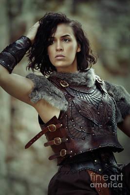 Medieval Princess Photograph - Warrior Princess by Amanda Elwell