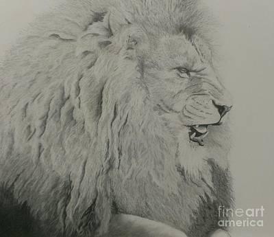 Jean Grey Drawing - Warrior by Robyn Garnet