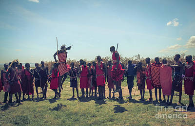 Photograph - Warriors Dance by Claudia M Photography