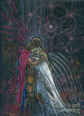 Warriors Of Infinity Art Print by Tatiana Kiselyova