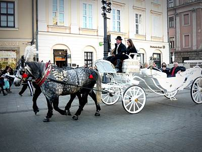Photograph - Warsaw Carriage 04 by Dora Hathazi Mendes