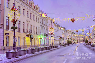 Warsaw Photograph - Warsaw by Juli Scalzi