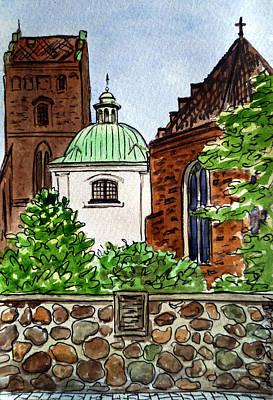 Painting - Warsaw Poland by Irina Sztukowski