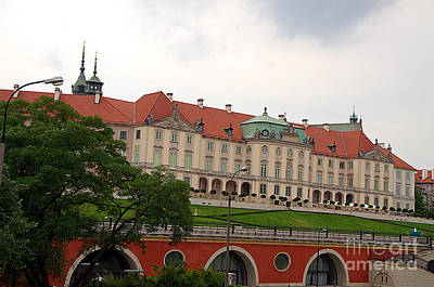 Warsaw Royal Castle, Kubick Arkades, Poland Original by Elzbieta Fazel