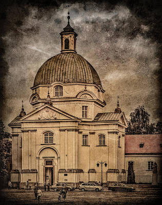 Photograph - Warsaw, Poland - St. Kazimierz by Mark Forte