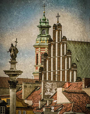 Photograph - Warsaw, Poland - To Castle Square by Mark Forte