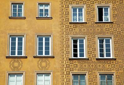Photograph - Warsaw Windows by Ramunas Bruzas