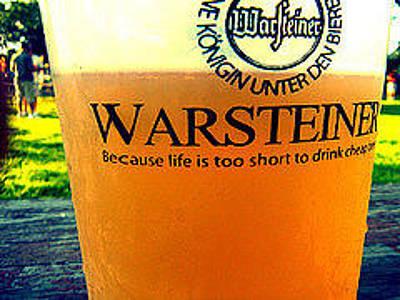 Photograph - Warsteiner by Brynn Ditsche