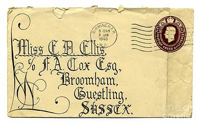 Wartime Letter Original by John Chatterley