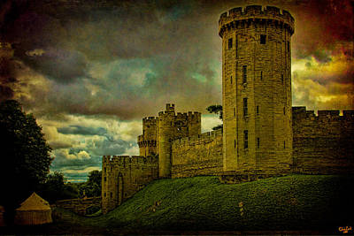 Warwick Castle Print by Chris Lord