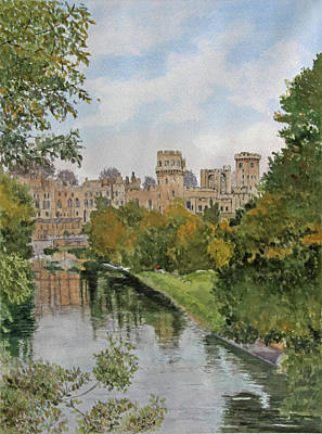 Painting - Warwick Castle by George Levitt