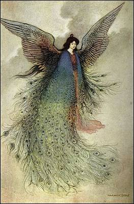Warwick Goble Art Print by MotionAge Designs