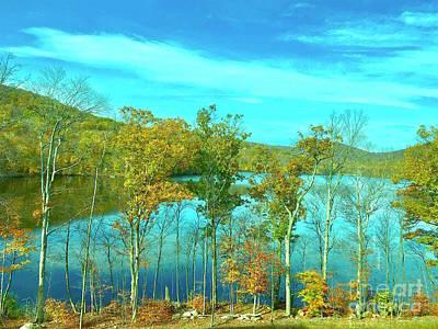 Painting - Warwick New York Beautiful Wilderness  by Saundra Myles