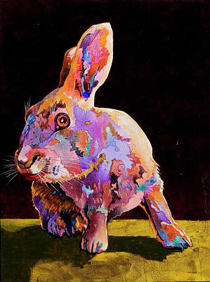 Painting - Wary by Bob Coonts