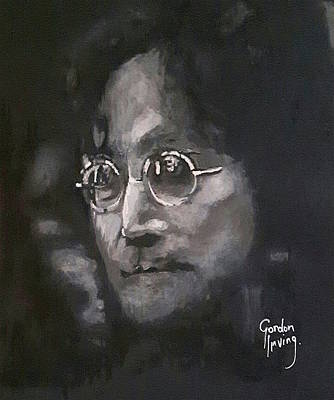 Portrait Painting - Was It In A Dream by Gordon Irving