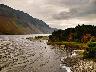 Olympic Sports - Wasdale Pike at Wastwater 2 by Joan-Violet Stretch