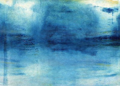 Gaugin - Wash Away- Abstract Art by Linda Woods by Linda Woods