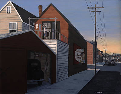Painting - Wash Day by Dave Rheaume