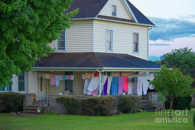 Photograph - Wash Day by David Arment