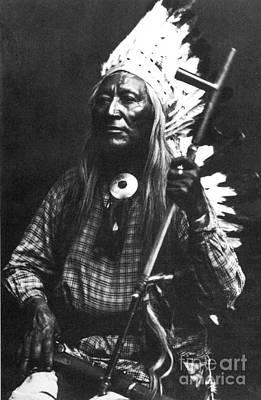 Photograph - Washakie (c1804-1900) by Granger
