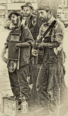 Recently Sold - Musicians Royalty Free Images - Washboard Symphony Royalty-Free Image by David Patterson