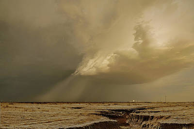 Photograph - Washburn Hail Shaft by Scott Cordell
