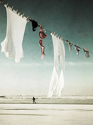 Washing Photograph - Washday by Manuela Deigert