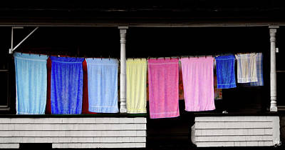 Photograph - Washday In Stark Nh by Wayne King