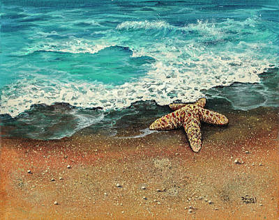 Painting - Washed Ashore by Darice Machel McGuire