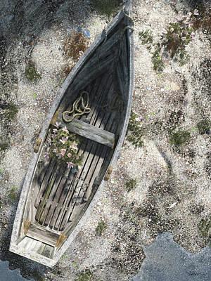 Shore Digital Art - Washed Ashore by Cynthia Decker