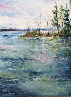 Painting - Washed By The Waters Series by Robin Miller-Bookhout