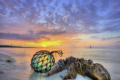 Emerald Coast Photograph - Washed Up In Pensacola Beach by JC Findley