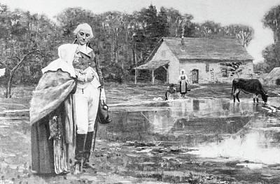 Photograph - Washington And His Mother by Douglas Barnett