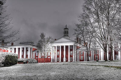 Washington And Lee Law School Print by Todd Hostetter