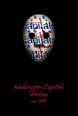 Photograph - Washington Capitals Established by Joe Hamilton