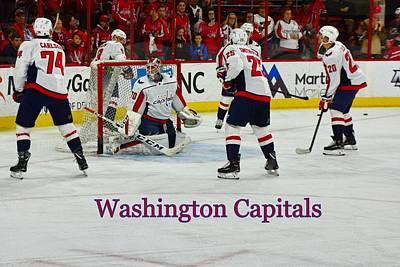 Photograph - Washington Capitals by Lisa Wooten
