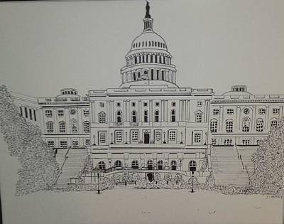 Washington Capitol Original by Donald Northup
