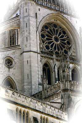 Washington Cathedral Art Print by Charlie Parker