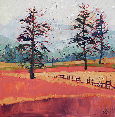 Loose Painting - Washington Color by Erin Hanson