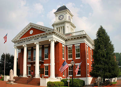 Politicians Royalty-Free and Rights-Managed Images - Washington County Courthouse by Kristin Elmquist